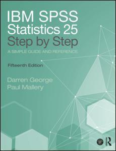 IBM SPSS Statistics 25 Step by Step