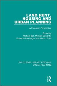 Land Rent, Housing and Urban Planning