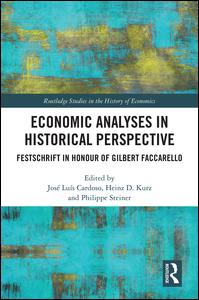 Economic Analyses in Historical Perspective