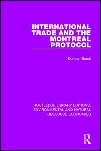 International Trade and the Montreal Protocol