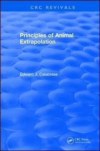 Principles of Animal Extrapolation (1991)