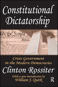 Constitutional Dictatorship