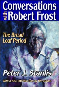 Conversations with Robert Frost