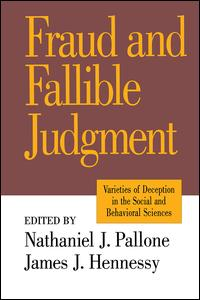 Fraud and Fallible Judgement