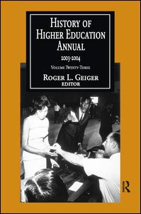 History of Higher Education Annual: 2003-2004