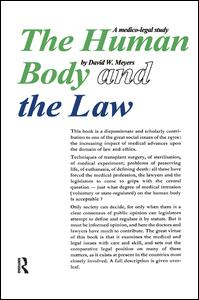 Human Body and the Law