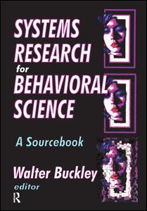 Systems Research for Behavioral Science