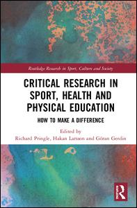 Critical Research in Sport, Health and Physical Education