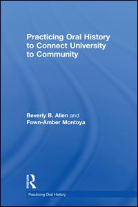 Practicing Oral History to Connect University to Community