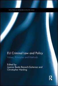 EU Criminal Law and Policy