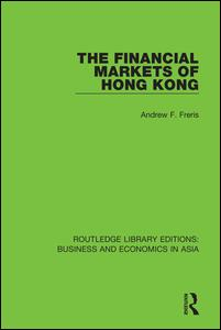 The Financial Markets of Hong Kong