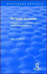 On Case Grammar