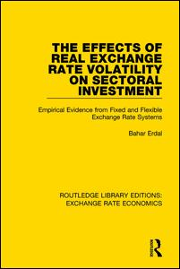 The Effects of Real Exchange Rate Volatility on Sectoral Investment
