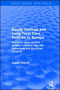 Equity Choices and Long-Term Care Policies in Europe