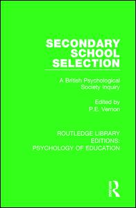 Secondary School Selection