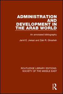 Administration and Development in the Arab World