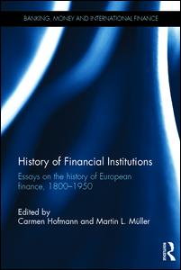 History of Financial Institutions