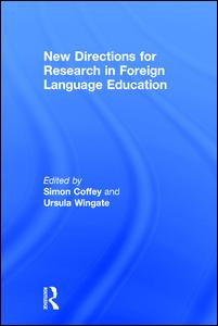 New Directions for Research in Foreign Language Education
