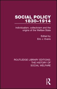 Social Policy 1830-1914