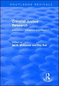 Criminal Justice Research