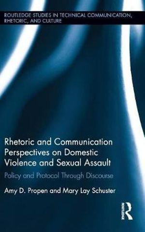 Rhetoric and Communication Perspectives on Domestic Violence and Sexual Assault