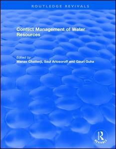 Conflict Management of Water Resources
