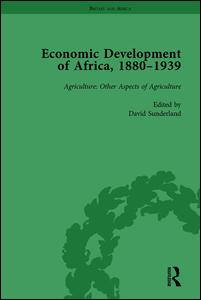 Economic Development of Africa, 1880-1939 vol 3