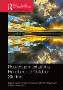 Routledge International Handbook of Outdoor Studies