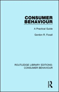 Consumer Behaviour (RLE Consumer Behaviour)