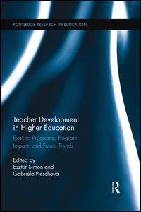 Teacher Development in Higher Education