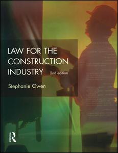 Law for the Construction Industry