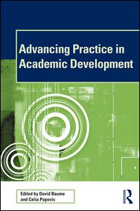 Advancing Practice in Academic Development