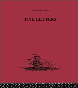 Five Letters 1519-1526