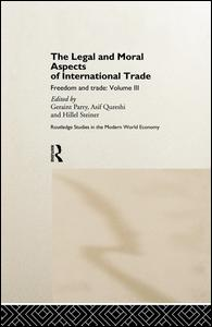 The Legal and Moral Aspects of International Trade