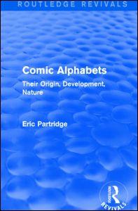 Comic Alphabets (Routledge Revivals)
