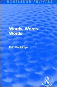 Words, Words Words!