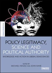 Policy Legitimacy, Science and Political Authority