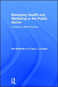Managing Health and Wellbeing in the Public Sector