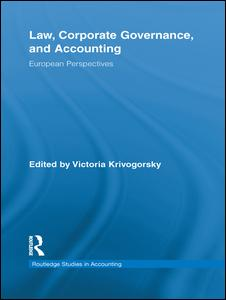 Law, Corporate Governance and Accounting