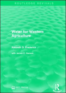 Water for Western Agriculture
