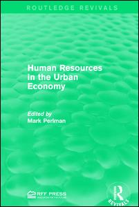 Human Resources in the Urban Economy