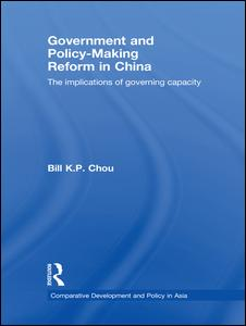 Government and Policy-Making Reform in China
