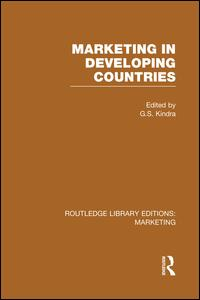 Marketing in Developing Countries (RLE Marketing)