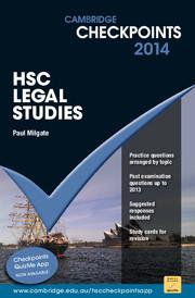 Cambridge Checkpoints HSC Legal Studies 2014