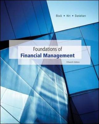 Foundations of Financial Management with Time Value of Money card