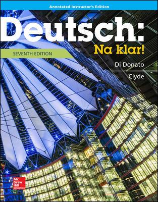 Annotated Instructor s Edition for Deutsch: Na klar!