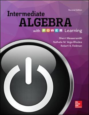 Intermediate Algebra with P.O.W.E.R. Learning