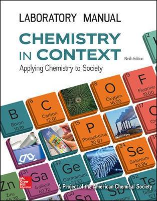 LABORATORY MANUAL FOR CHEMISTRY IN CONTEXT