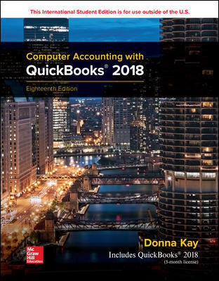 ISE Computer Accounting with QuickBooks 2018