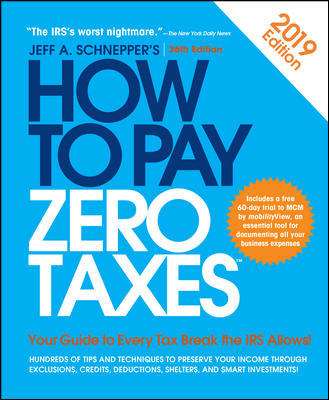 How To Pay Zero Taxes 2018